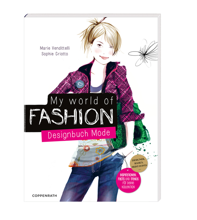 My World of Fashion: Designbuch Mode - Venditte...
