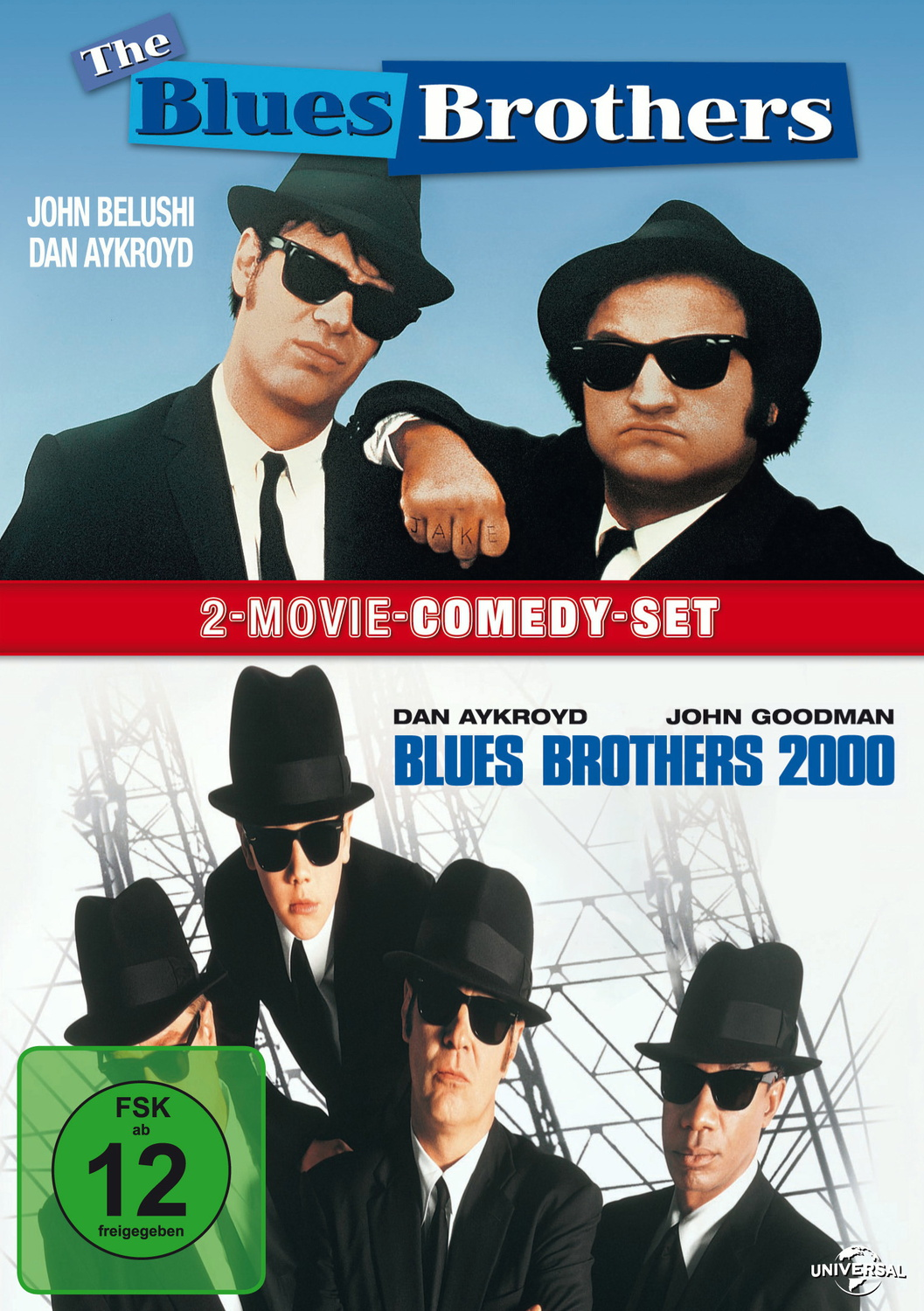 Blues Brothers/Blues Brothers 2000 [2 DVDs]