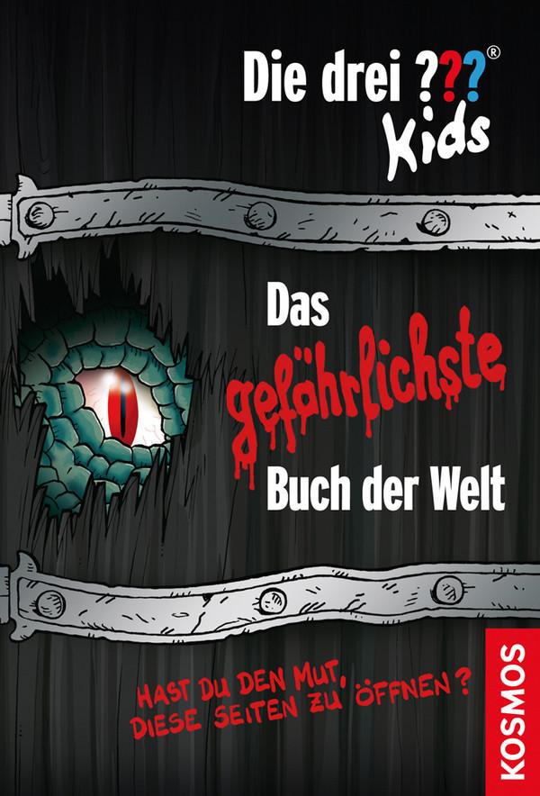 Die drei ??? Kids: Das gefährlichste Buch der Welt: Hast du den Mut diese Seiten zu öffnen? - Ulf Blanck