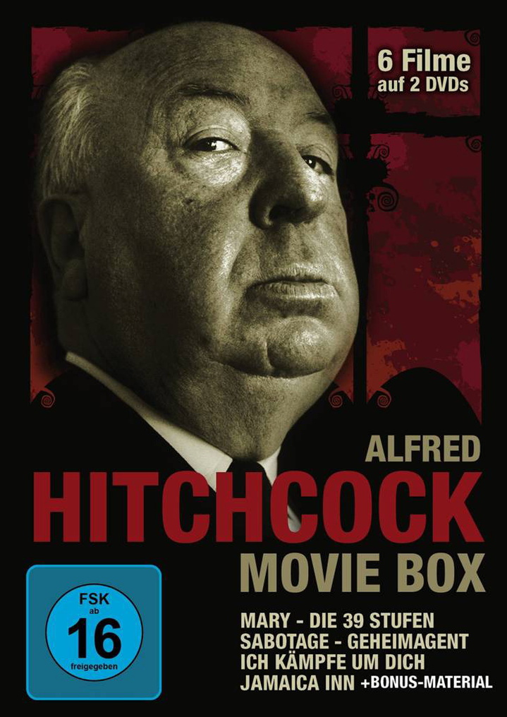 Alfred Hitchcock Movie Box [2 DVDs]