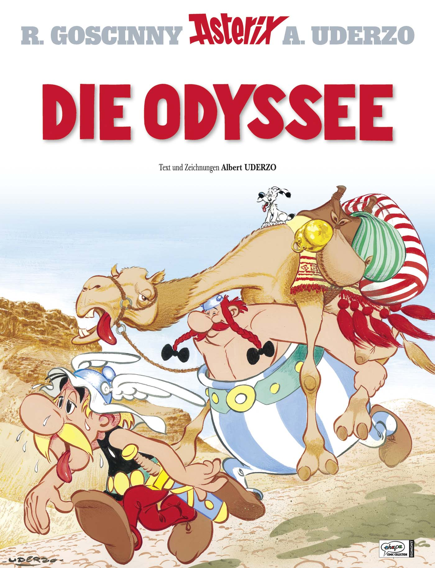 Asterix: Band 26 - Die Odyssee - R. Goscinny & A. Uderzo [Gebundene Ausgabe]