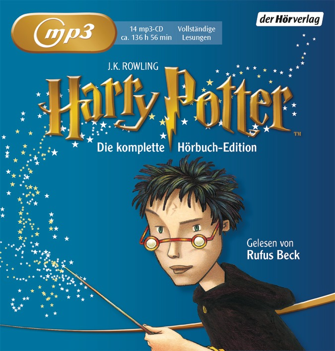 Harry Potter: Die komplette Hörbuch Edition - Joanne K. Rowling [14 mp3-CDs]