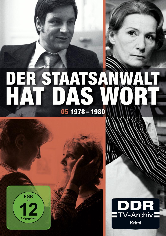 Der Staatsanwalt hat das Wort - Box 5: 1978-1980 [DDR-TV-Archiv, 4 DVDs]