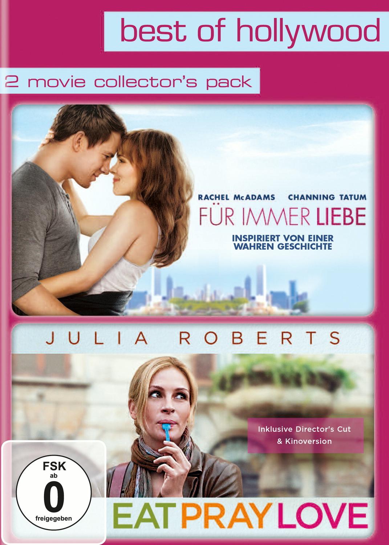 Best of Hollywood - 2 Movie Collector´s Pack: Für immer Liebe / Eat Pray Love [2 DVDs]