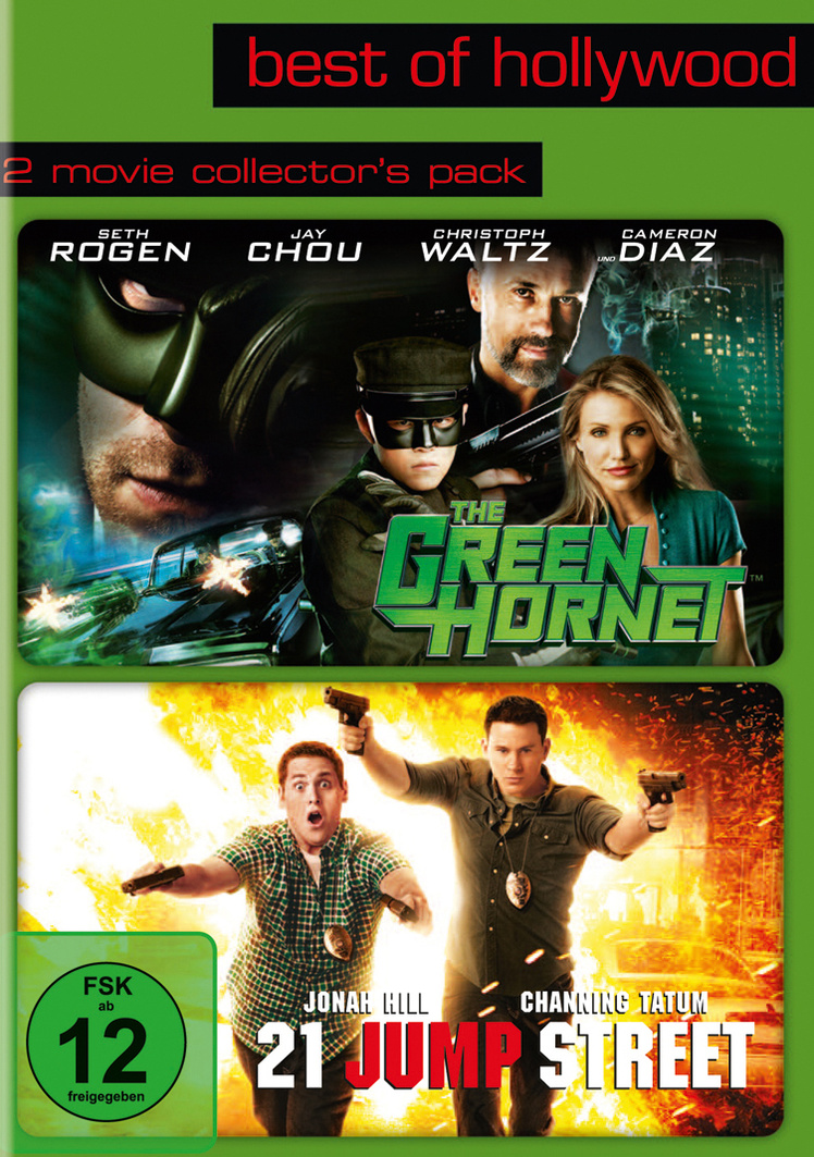 Best of Hollywood - 2 Movie Collector´s Pack: The Green Hornet / 21 Jump Street [2 DVDs]