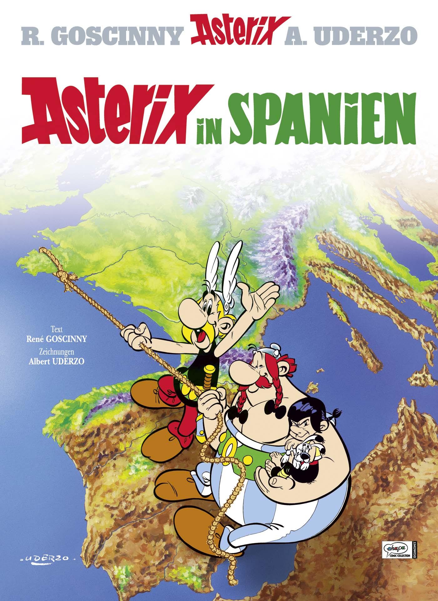 Asterix: Band 14 - Asterix in Spanien - Rene Goscinny & Albert Uderzo [Gebundene Ausgabe]