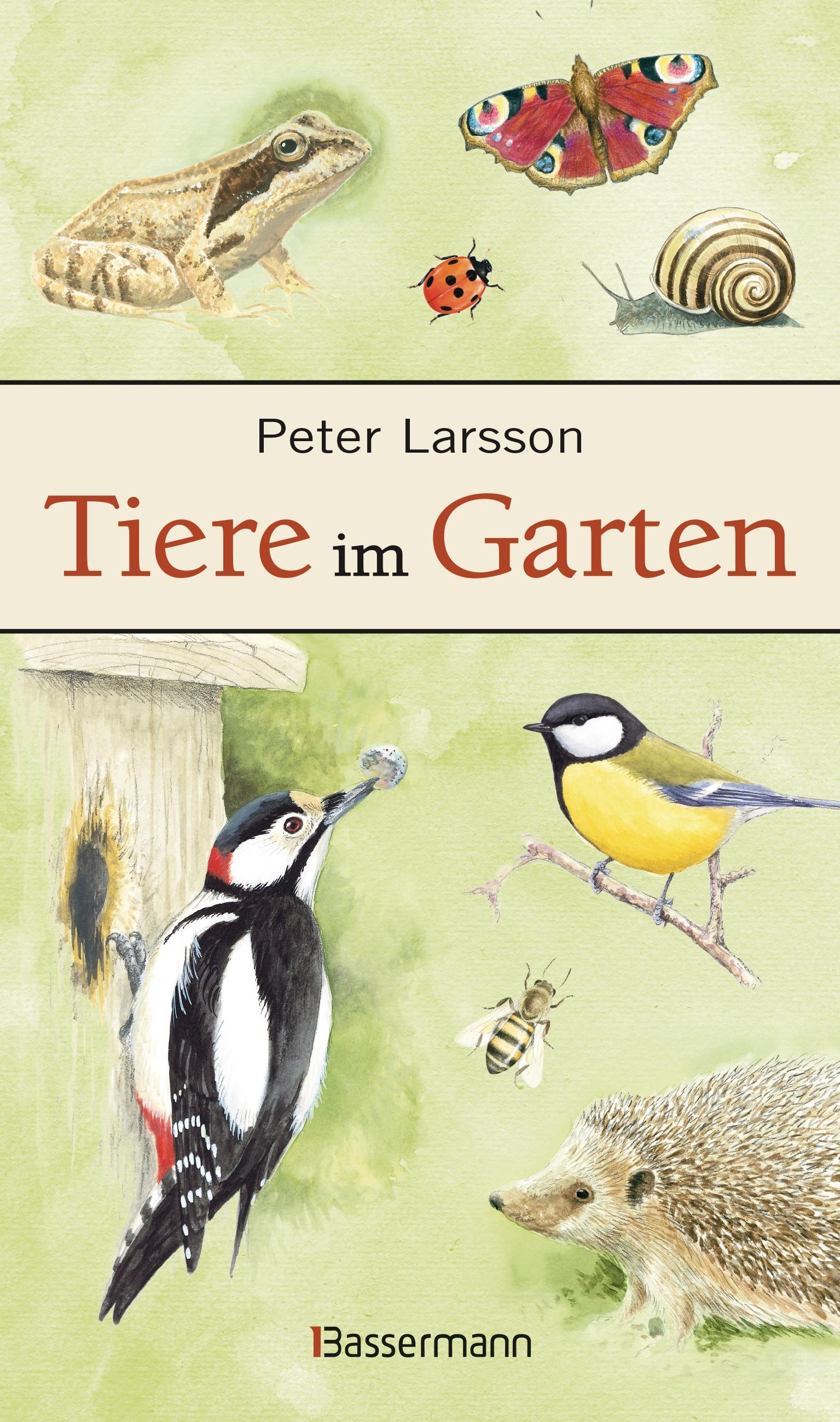Tiere im Garten - Larsson, Peter