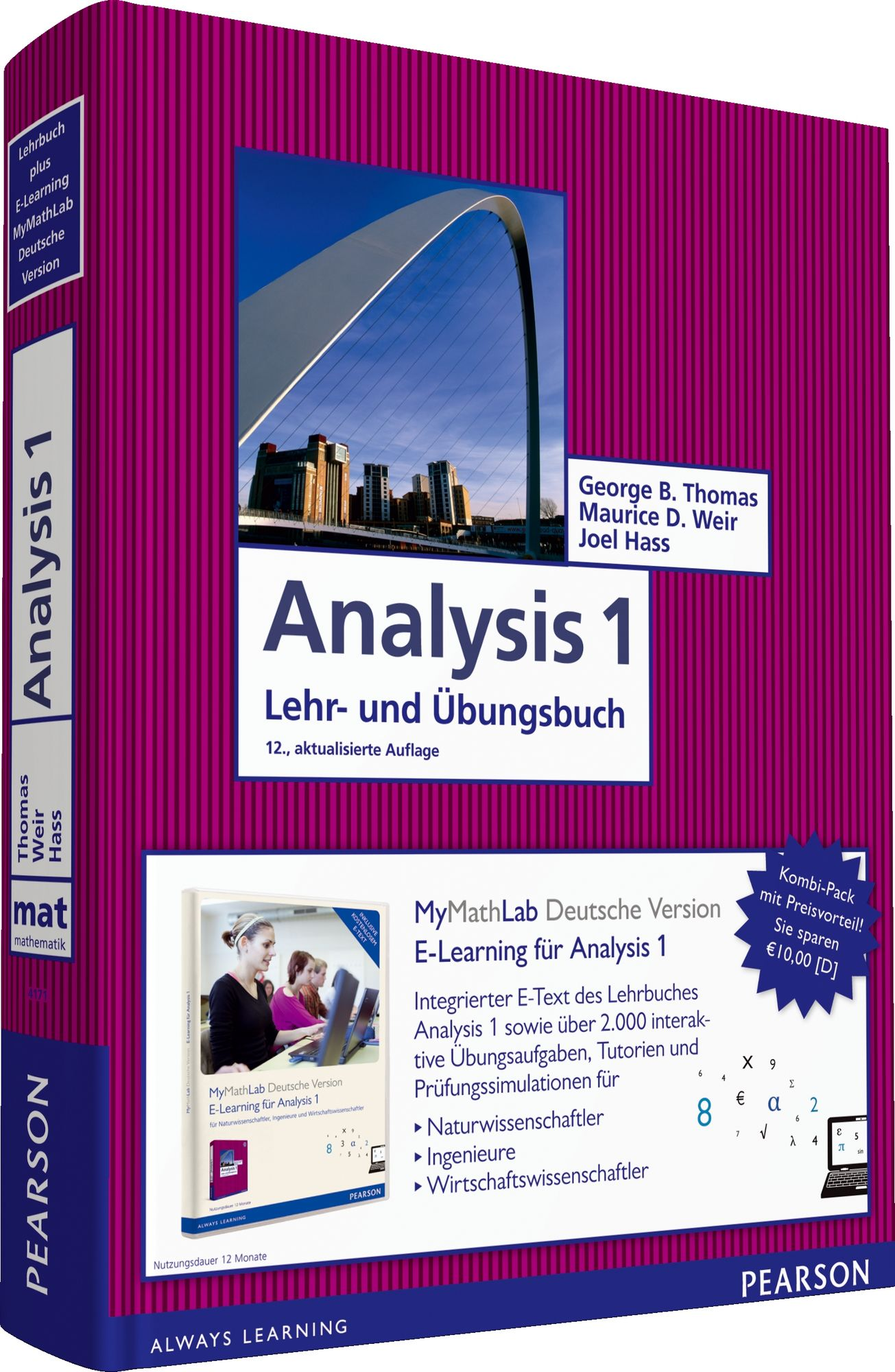 Analysis 1: Mathematik für Naturwissenschaftler...