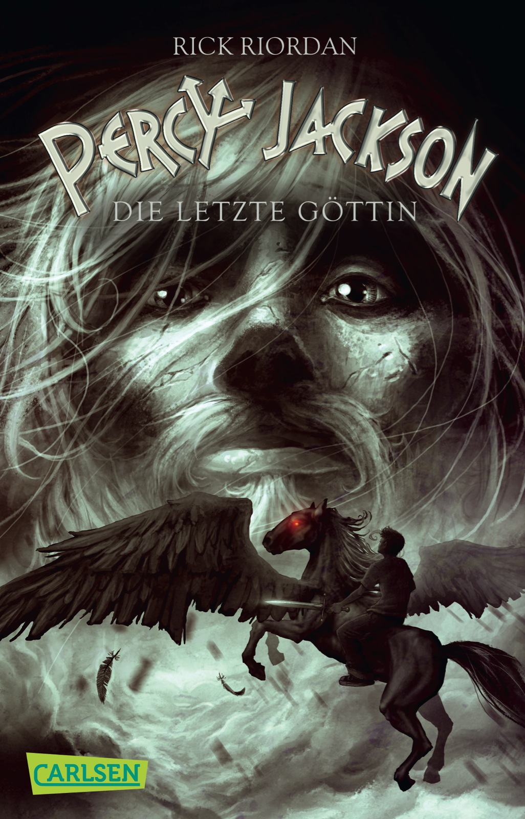 Percy Jackson: Band 5 - Die letzte Göttin - Rick Riordan [Taschenbuch]