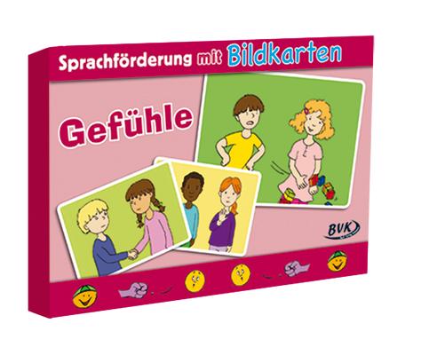 """Sprachförderung mit Bildkarten """"Gefühle&#34..."""
