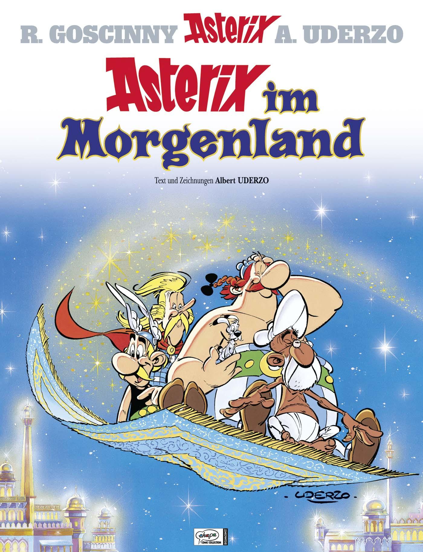 Asterix: Band 28 - Asterix im Morgenland - R. Goscinny & A. Uderzo [Gebundene Ausgabe]