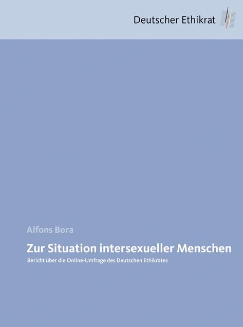 Zur Situation intersexueller Menschen: Bericht ...