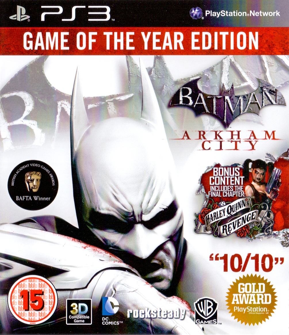 Batman: Arkham City [Game of the Year Edition, Internationale Version]