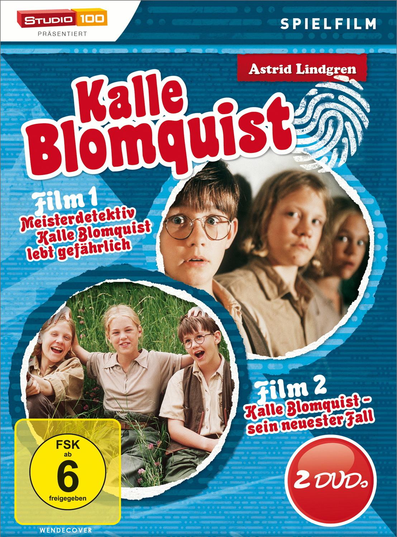 Astrid Lindgren - Kalle Blomquist: Teil 1 + 2 [2 DVDs]