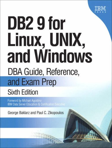 DB2 9 for Linux, UNIX, and Windows: DBA Guide, ...