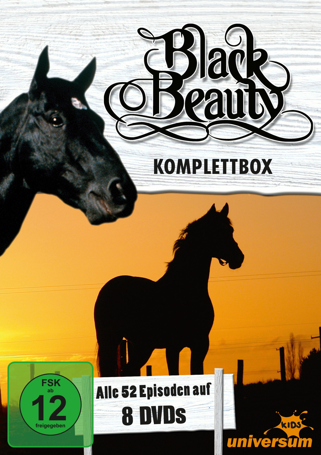 Black Beauty, Komplettbox [8 DVDs]