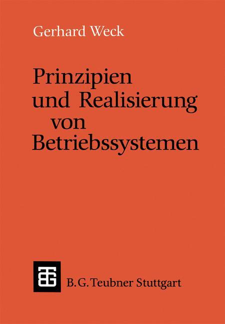 Prinzipien und Realisierung von Betriebssysteme...