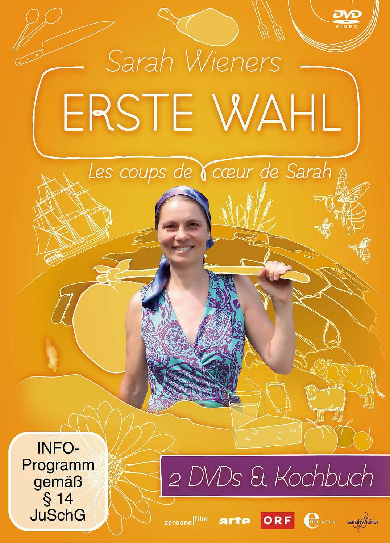 Sarah Wieners erste Wahl [inkl. Kochbuch, 2 DVDs]