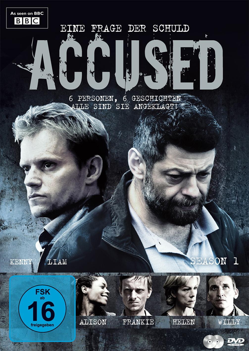 Accused - Eine Frage der Schuld: Staffel 1 [2 DVDs]