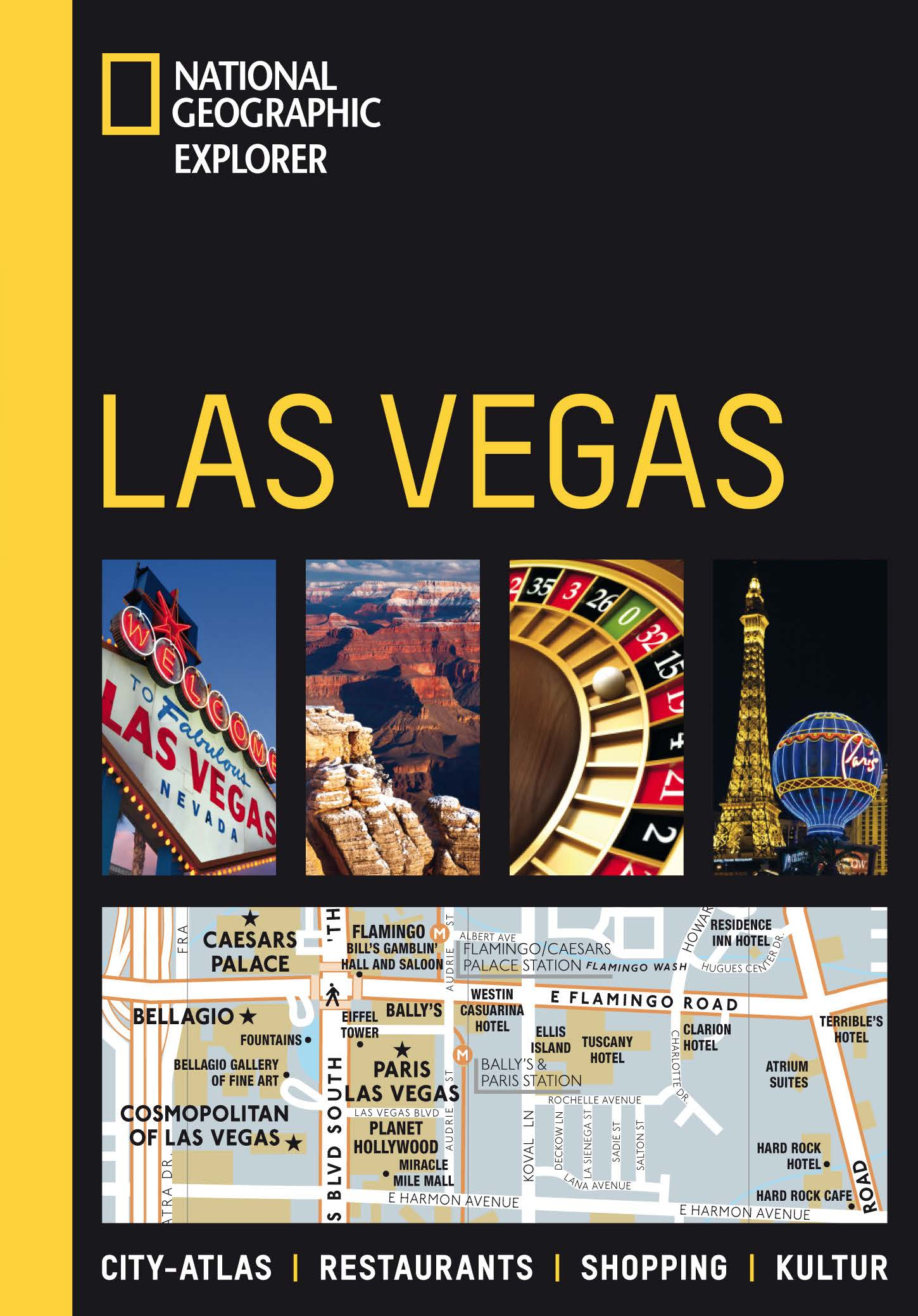 Las Vegas: City-Atlas. Restaurants. Shopping. K...