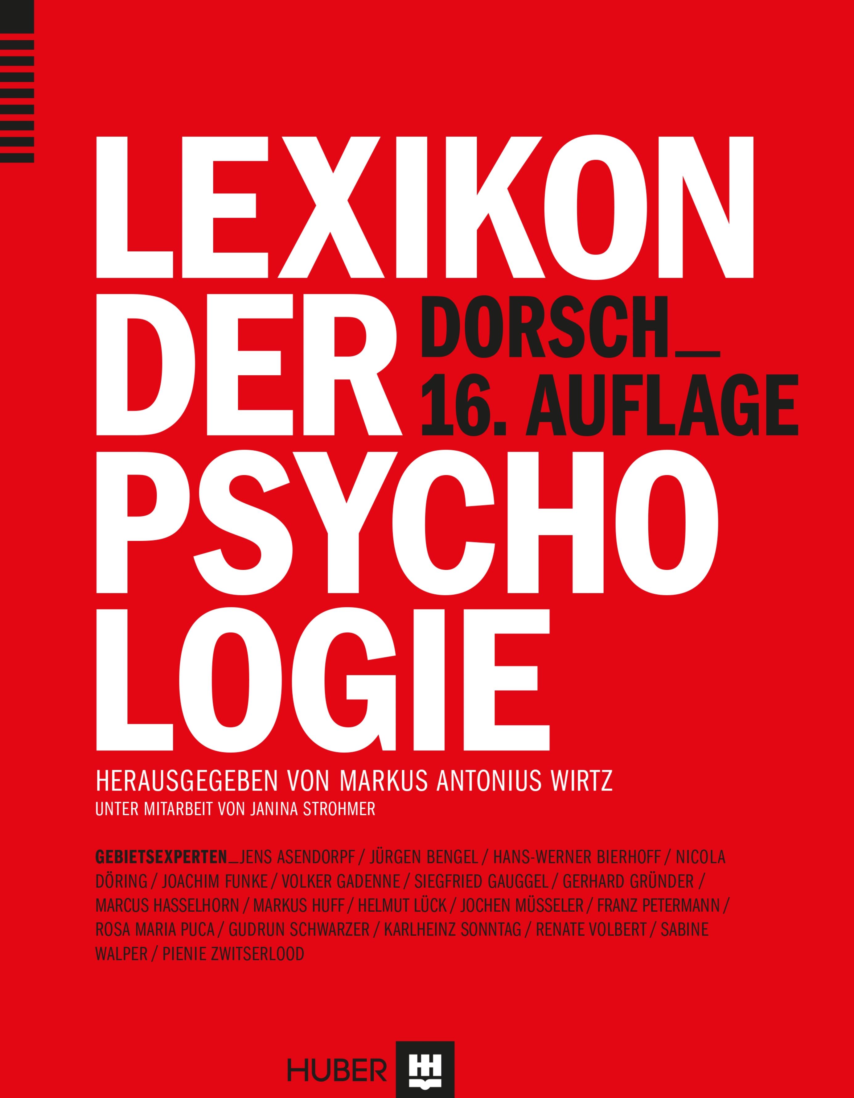 Dorsch - Lexikon der Psychologie [16. Auflage 2...