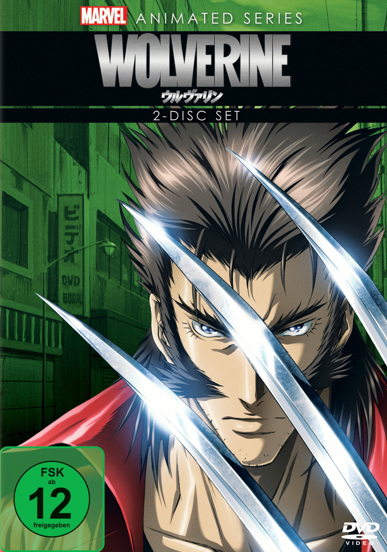 Marvel Animated Series: Wolverine - Die komplette Serie [2 DVDs]