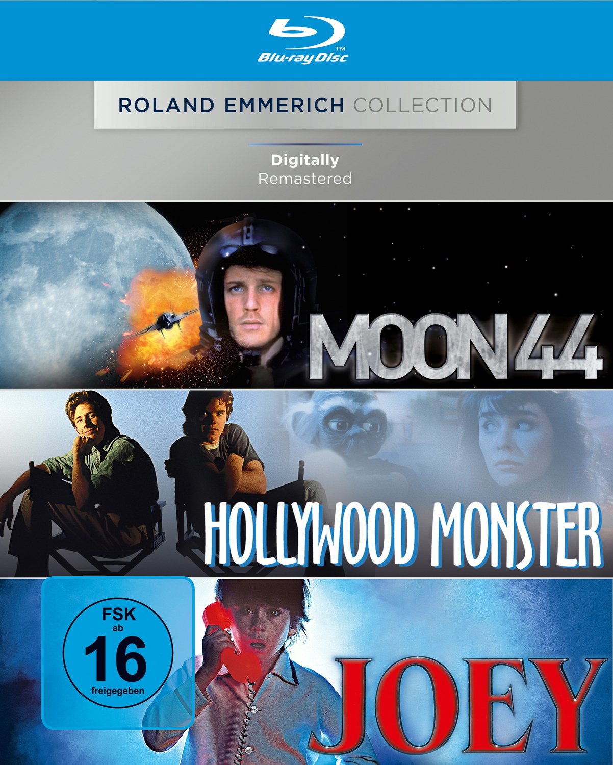 Moon 44 / Hollywood Monster / Joey [3 Disc, Rol...