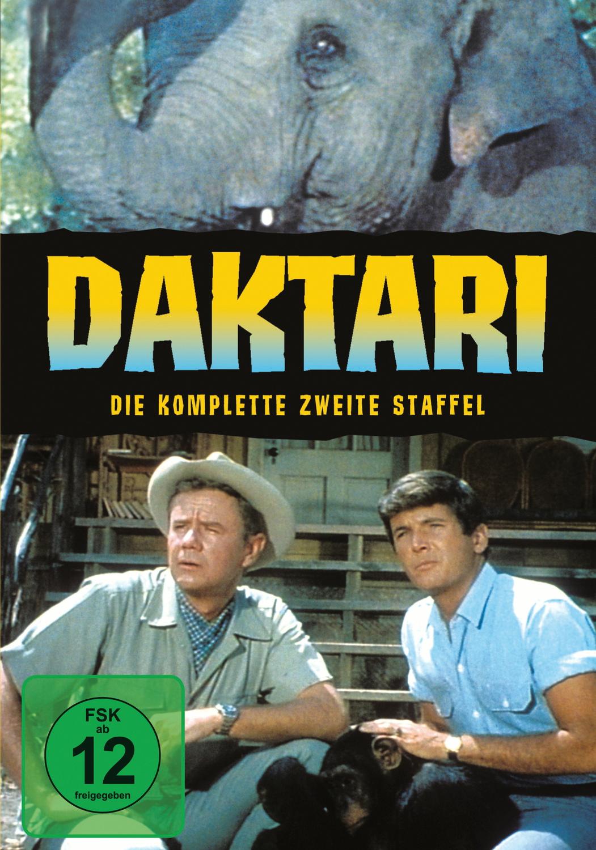 Daktari - Die komplette zweite Staffel [6 DVDs]