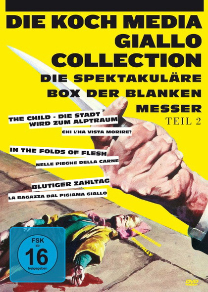 Giallo-Collection Teil 2 - Die spektakuläre Box der blanken Messer [3 DVDs]