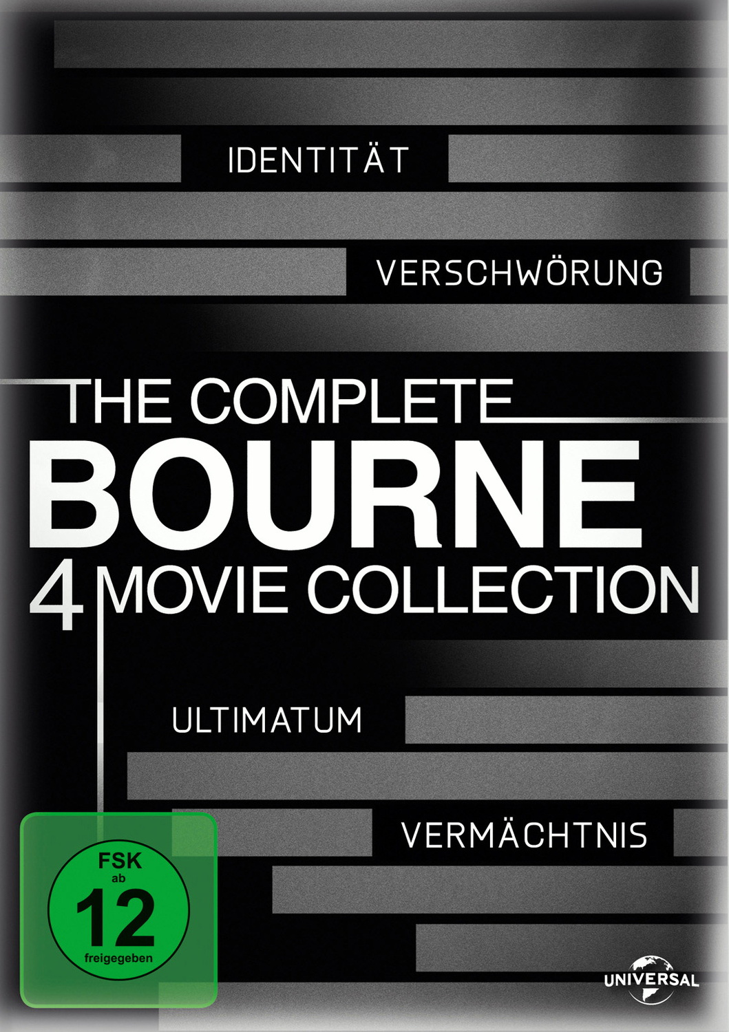 The Complete Bourne 4 Movie Collection [4 DVDs]
