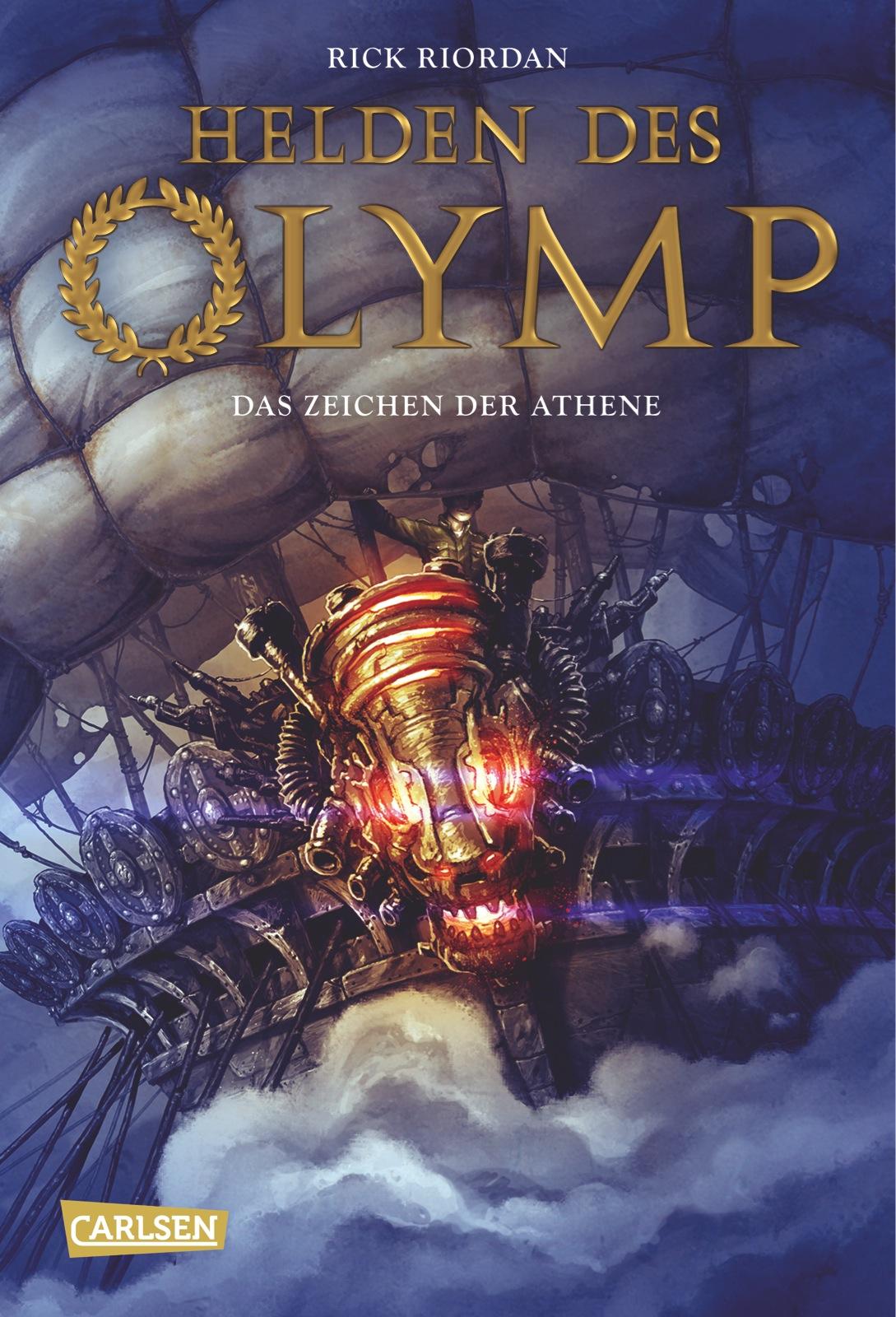 Helden des Olymp - Band 3: Das Zeichen der Athene - Rick Riordan [Taschenbuch]