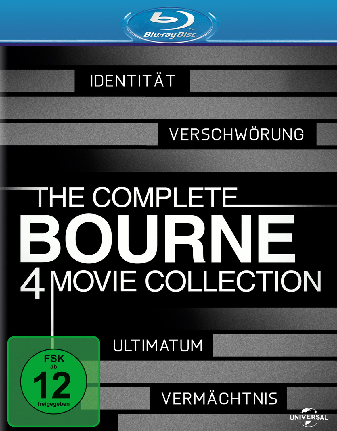 The Complete Bourne Collection [4 Discs]