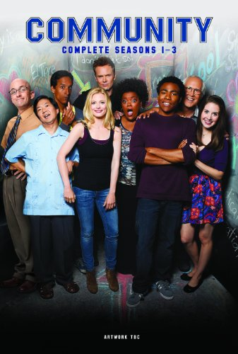 Community - Season 1 - 3 [UK Import, 11 DVDs]