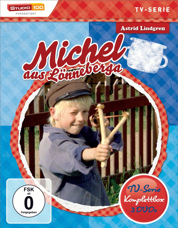 Astrid Lindgren: Michel aus Lönneberga - TV-Serie Komplettbox [3 Discs]