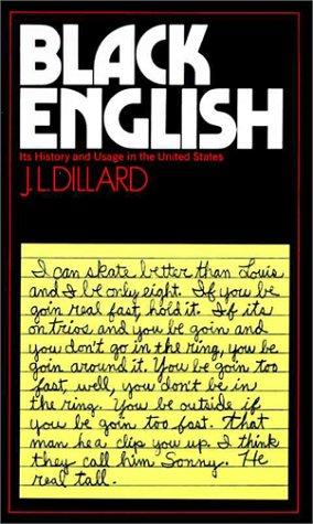 Black English - Dillard, J.L.