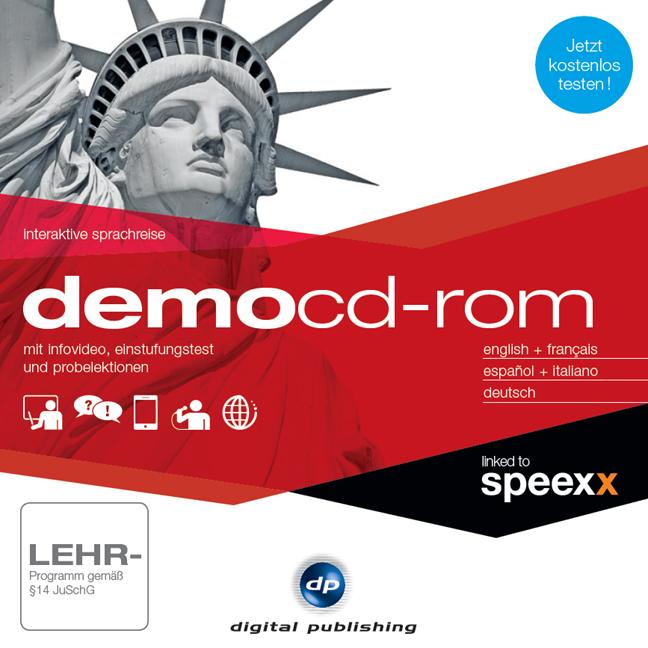 Demo CD-ROM - Interaktive Sprachreise: Infovideo, Testlektionen und Einstufungstest für fünf Sprachen