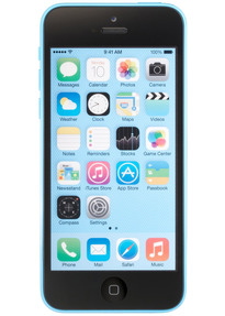apple iphone 5c 16gb blau gebraucht kaufen 0885909795314. Black Bedroom Furniture Sets. Home Design Ideas