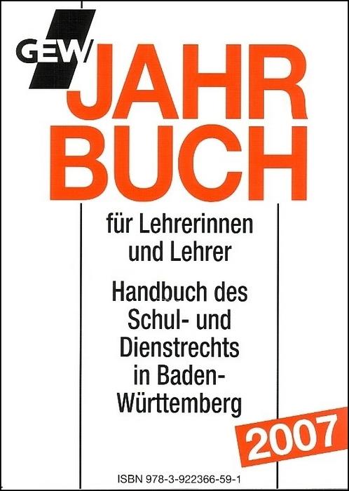 GEW Jahrbuch 2007 für Lehrerinnen und Lehrer: H...