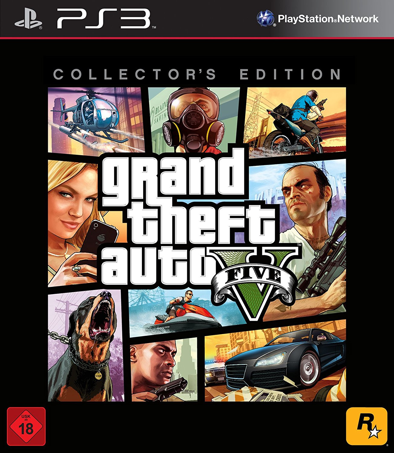 Grand Theft Auto V [Collector´s Edition inkl. A...