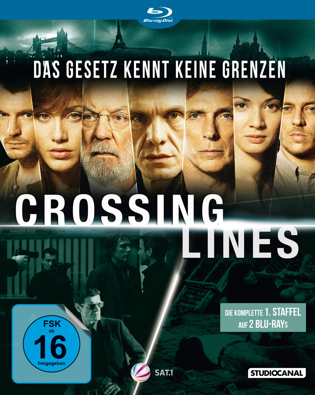 Crossing Lines - Staffel 1 [2 Discs]