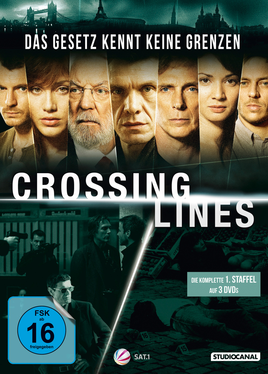 Crossing Lines - Die komplette 1. Staffel [3 DVDs]