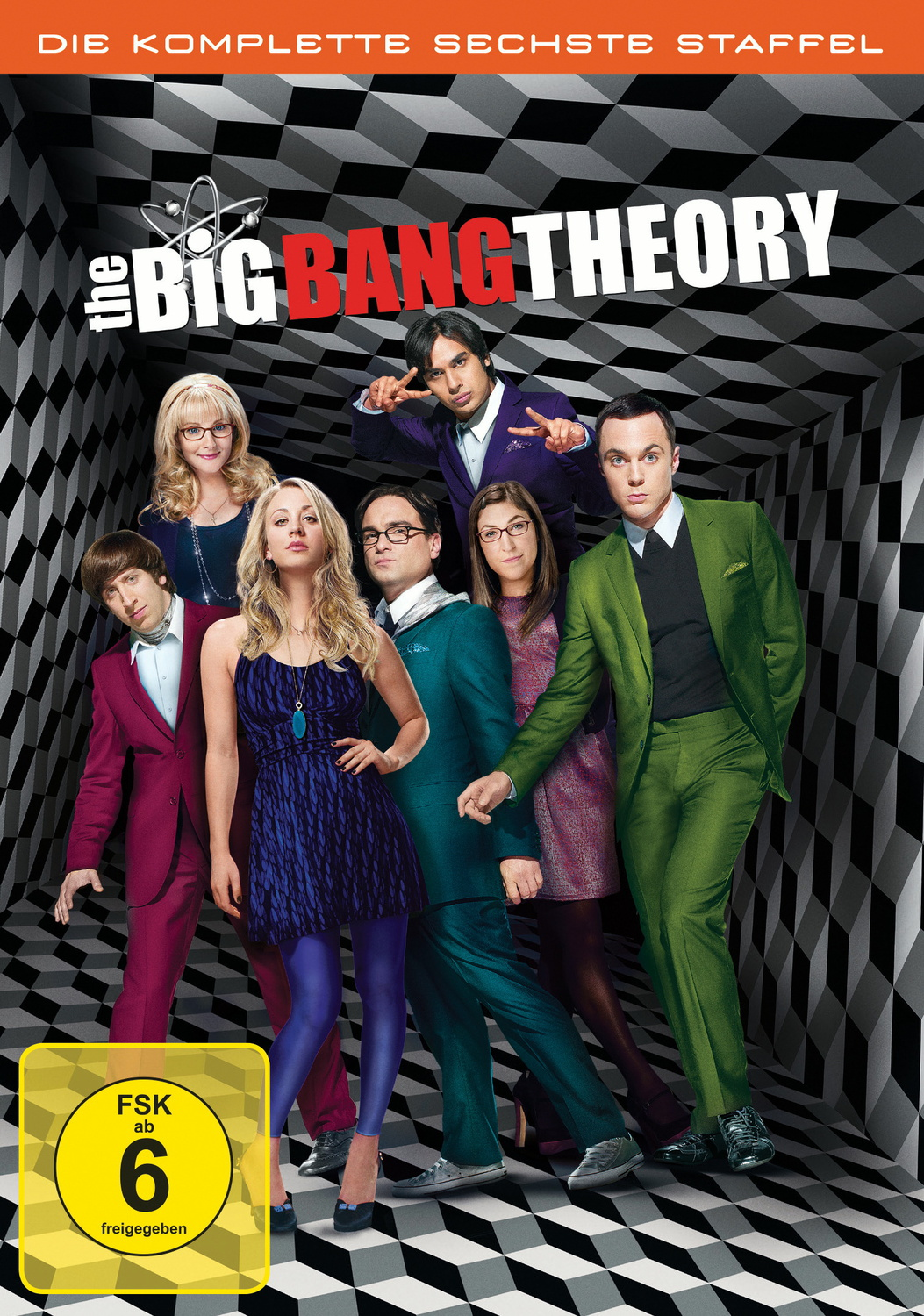 The Big Bang Theory - Staffel 6 [3 DVDs]