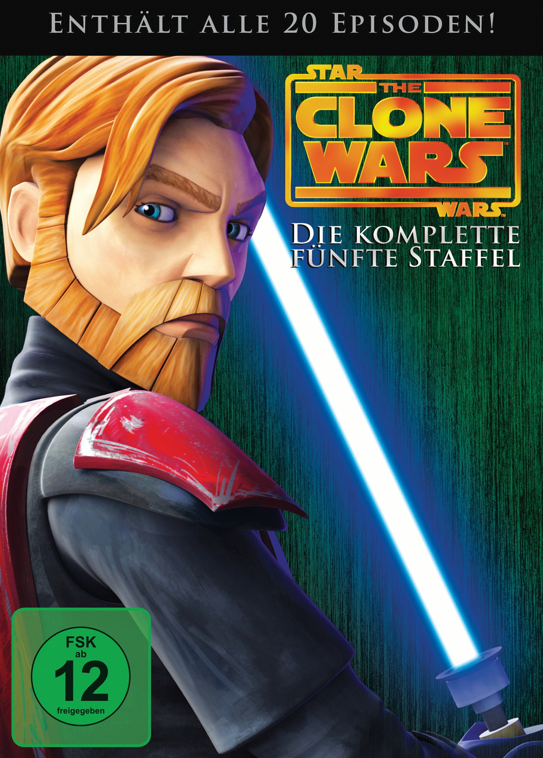 Star Wars - The Clone Wars - Staffel 5 [4 DVDs]