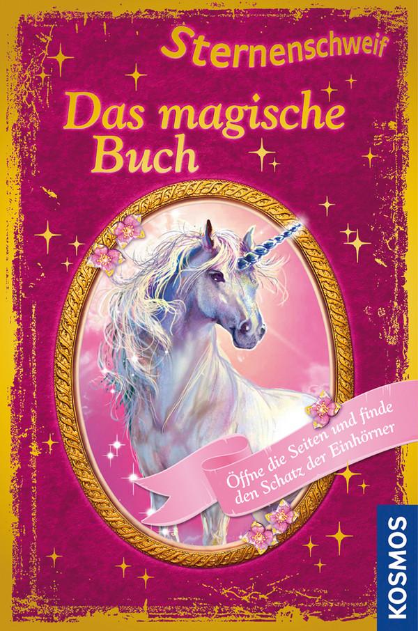 Sternenschweif, Das magische Buch: Sonderband - Öffne die Seiten und finde den Schatz der Einhörner - Chapman, Linda