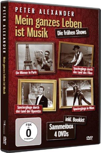 Peter Alexander - Mein ganzes Leben ist Musik [inkl. Booklet, 4 DVDs]