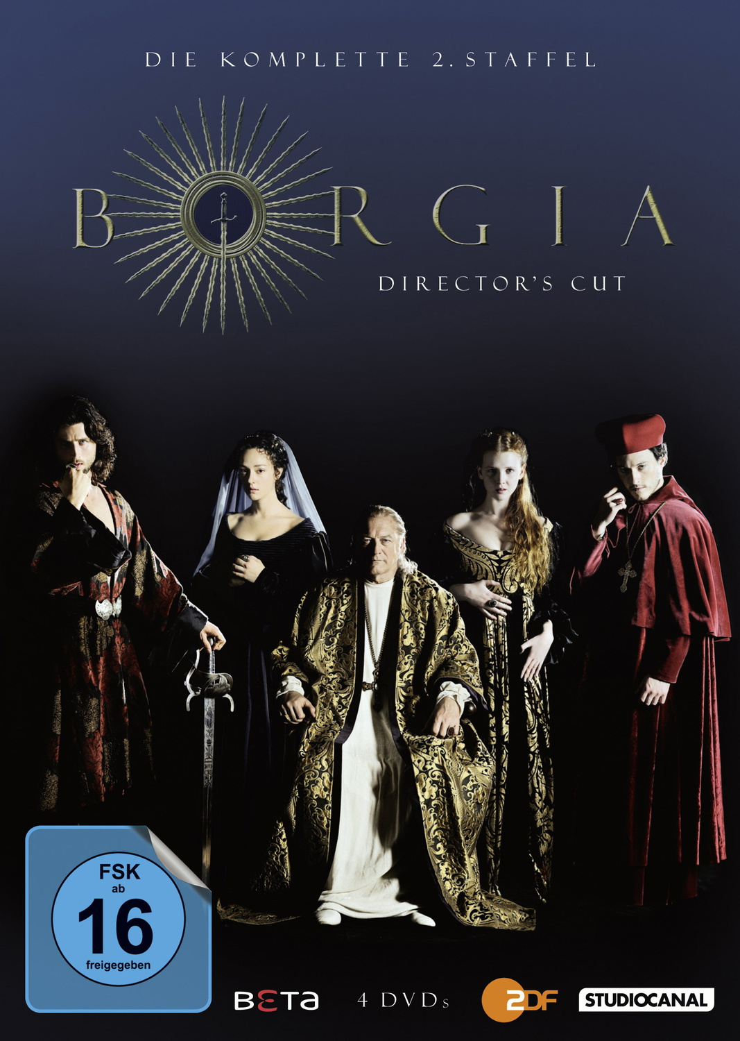 Borgia: Staffel 2 [Director´s Cut, 4 DVDs]