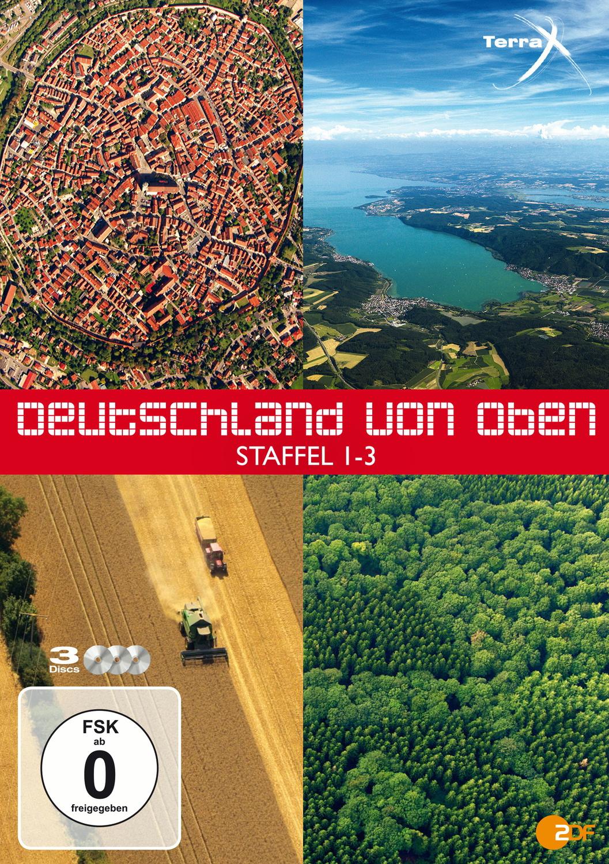 Terra X - Deutschland von oben - Teil 1 - 3 [3 DVDs]