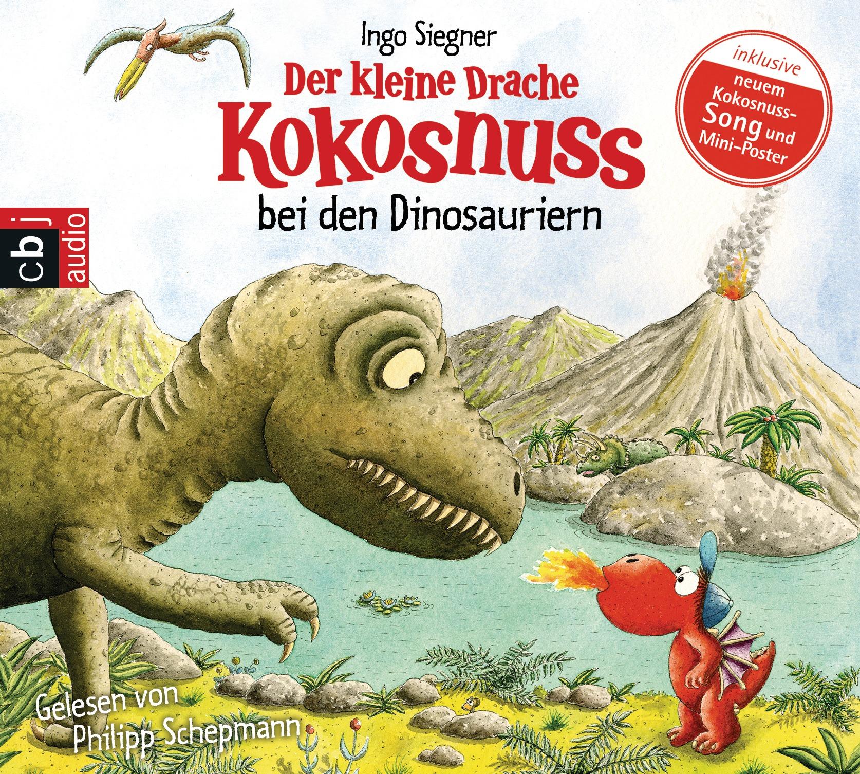Der kleine Drache Kokosnuss bei den Dinosauriern - Ingo Siegner [Audio CD]