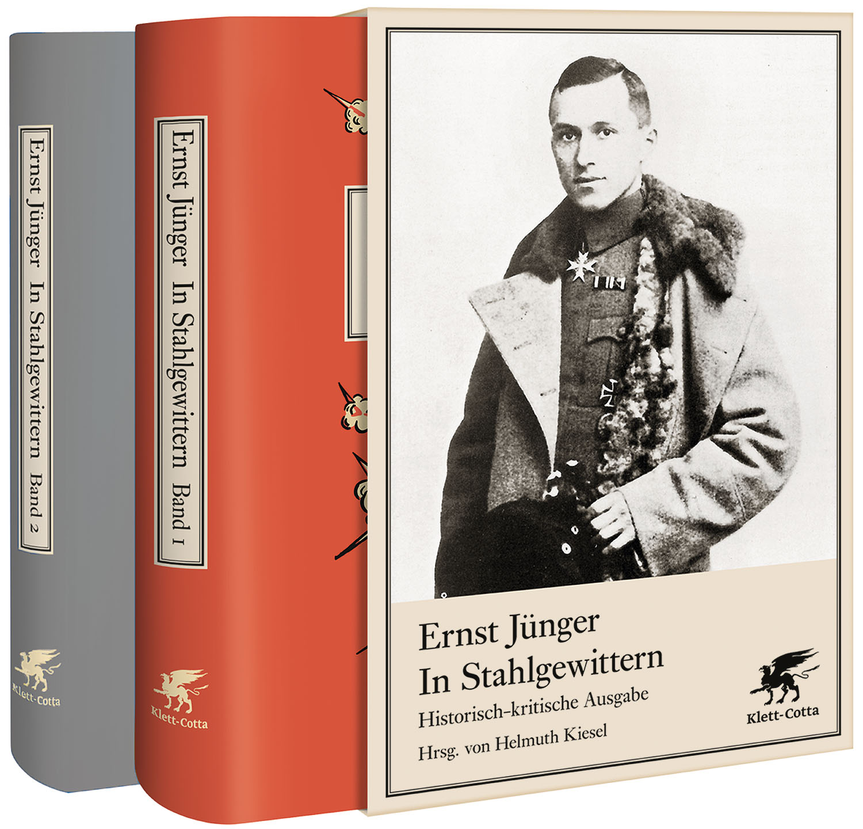 In Stahlgewittern: Historisch-kritische Ausgabe - Ernst Jünger [Band 1+2 ]