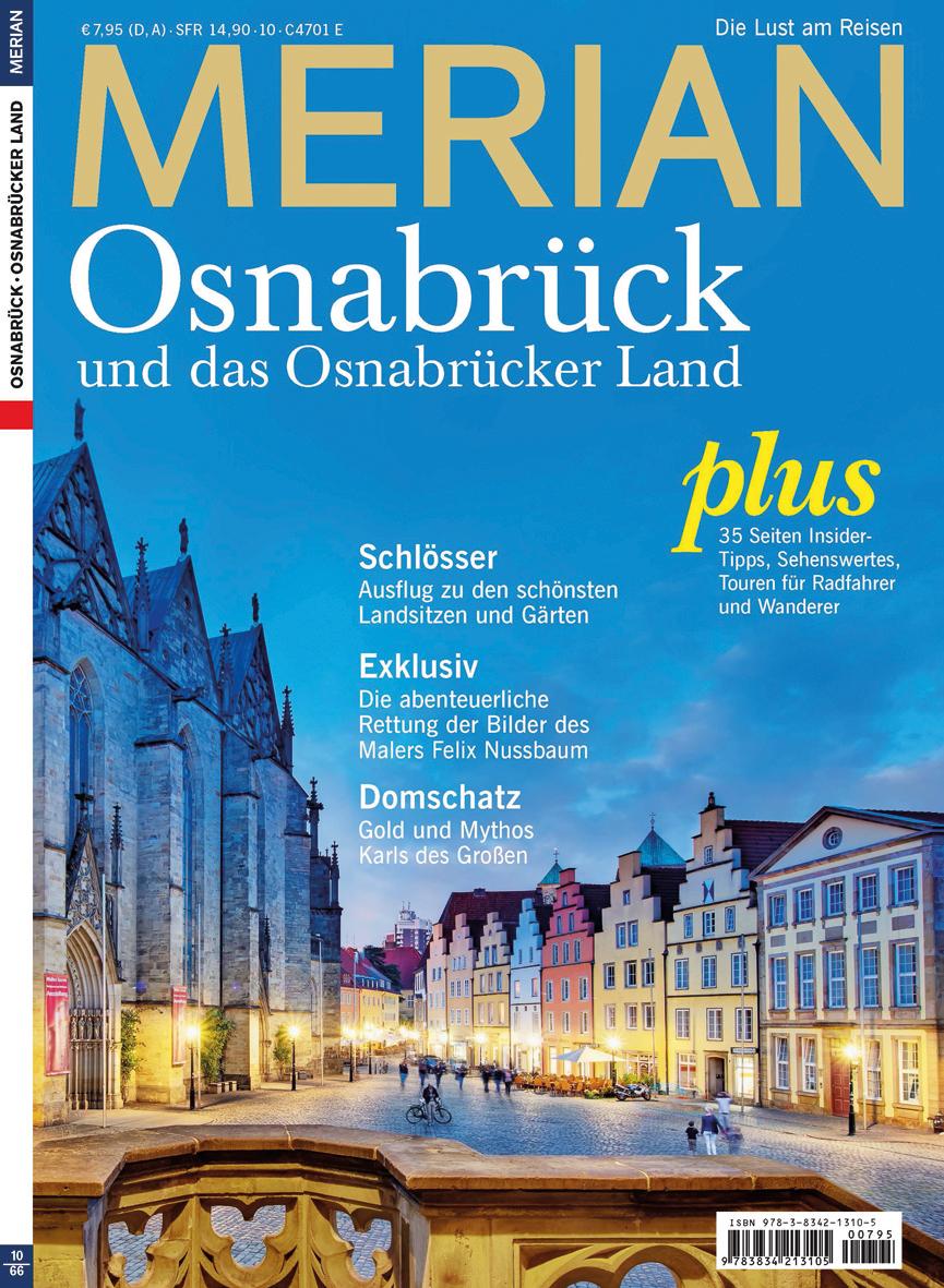 MERIAN Osnabrück 10/13 (MERIAN Hefte)